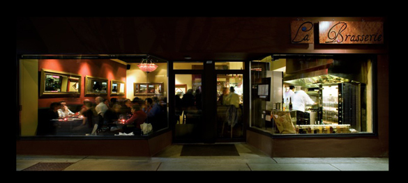 La Brasserie | 1091 Davie Street | 604-568-6499 | LaBrasserieVancouver.com