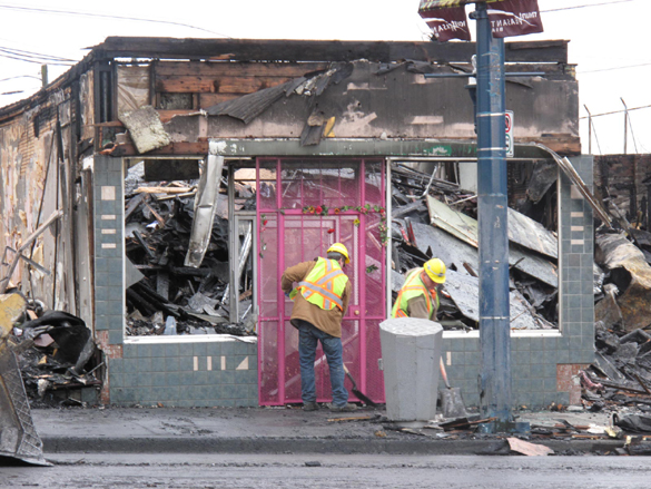 Bummer: Tim Hortons & Wendy's To Open In Fire-Gutted Soma ...