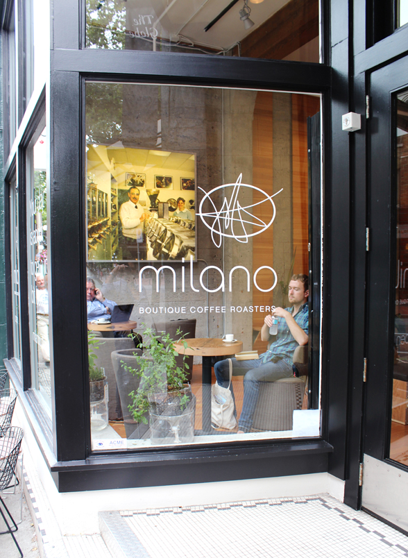 Milano locations can be found at 156 West 8th Avenue | 36 Powell Street | 849 Denman Street | www.milanocoffee.ca