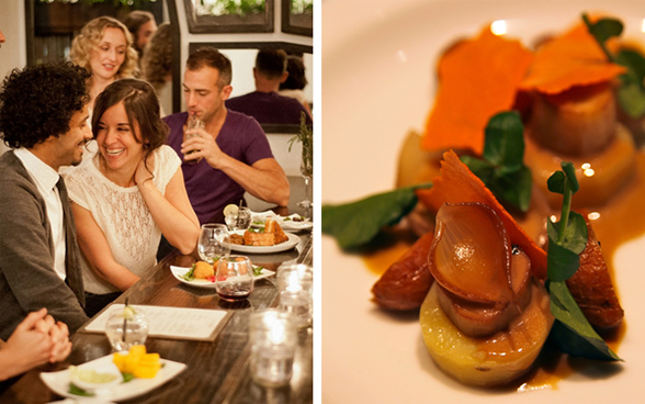 The Acorn is located at 3995 Main Street in beautiful Vancouver, BC   604-566-9001   www.theacornrestaurant.ca
