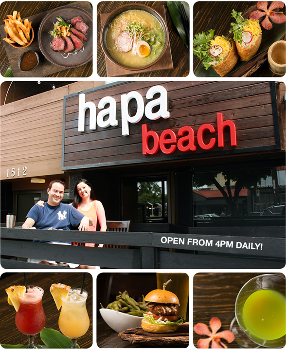 There are 6 Hapa Izakayas in Vancouver & Toronto. Kits | Robson | Yaletown | Coal Harbour | College | Ritz Bar