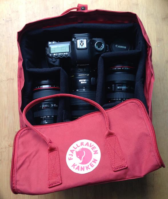 A Camera Insert For A Fjallraven Kanken Backpack Scout