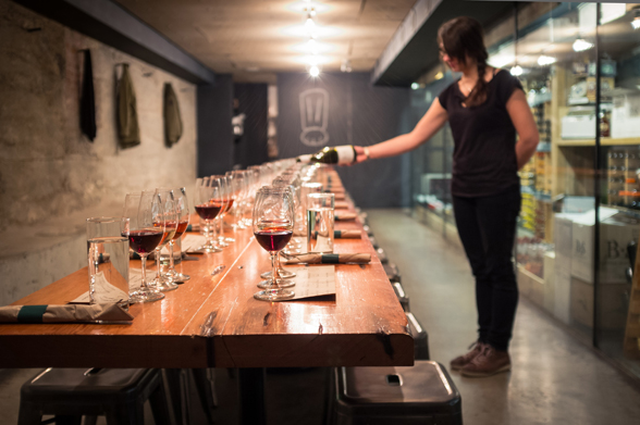 Salt Tasting Room is located in Gastown's Blood Alley (look for the flag) | 604-633-1912 | salttastingroom.com