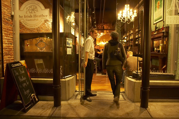 The Irish Heather is located at 210 Carrall St. in the heart of Gastown | 604-688-9779 | www.irishheather.com