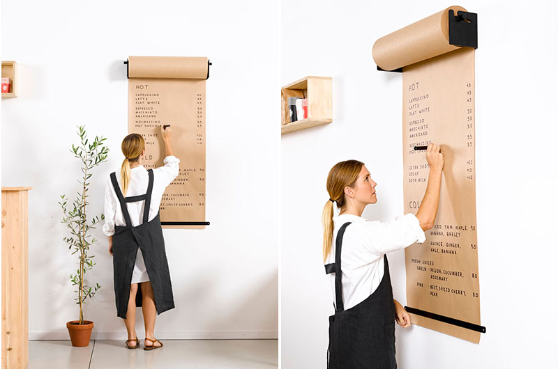 This Butcher Paper Scroll For Making To Do Lists At Home