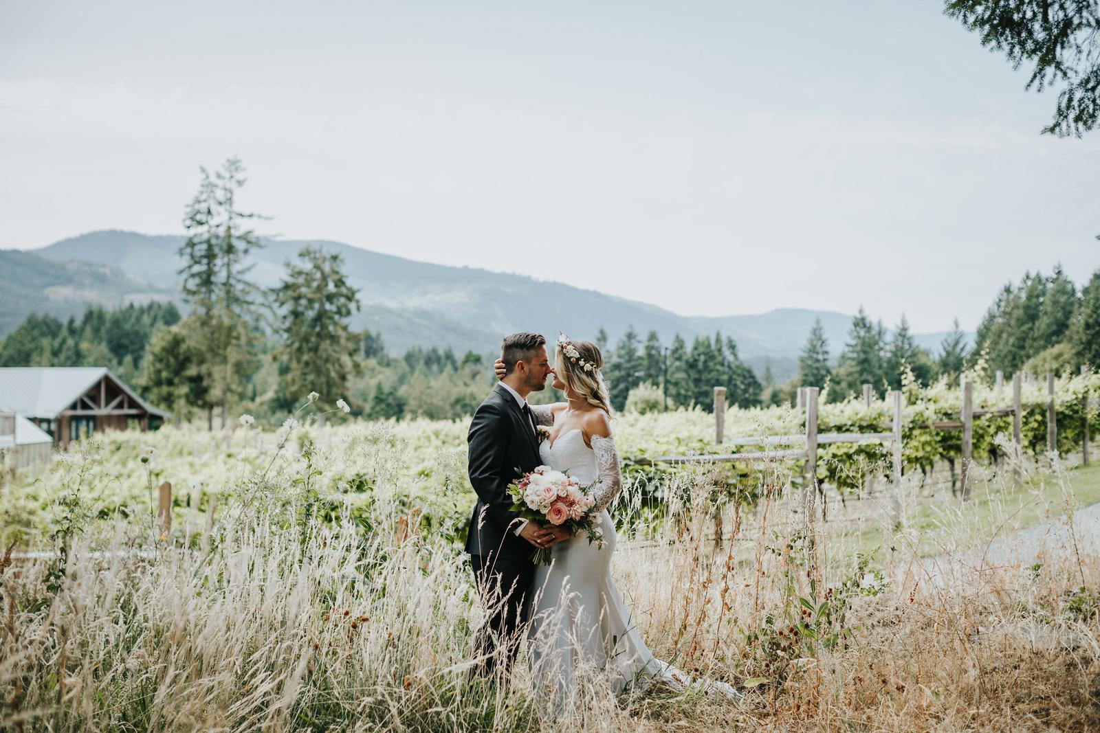 Winery Wedding Vancouver Island