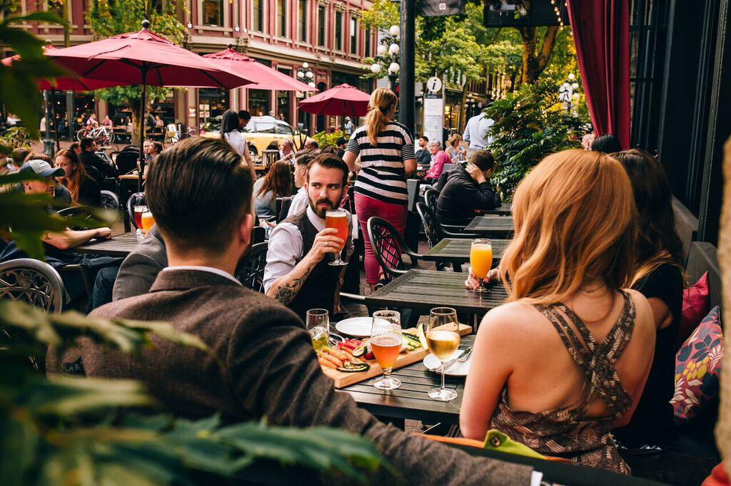 The Sprawling Patio That Helped Spark Gastown's Restaurant Renaissance