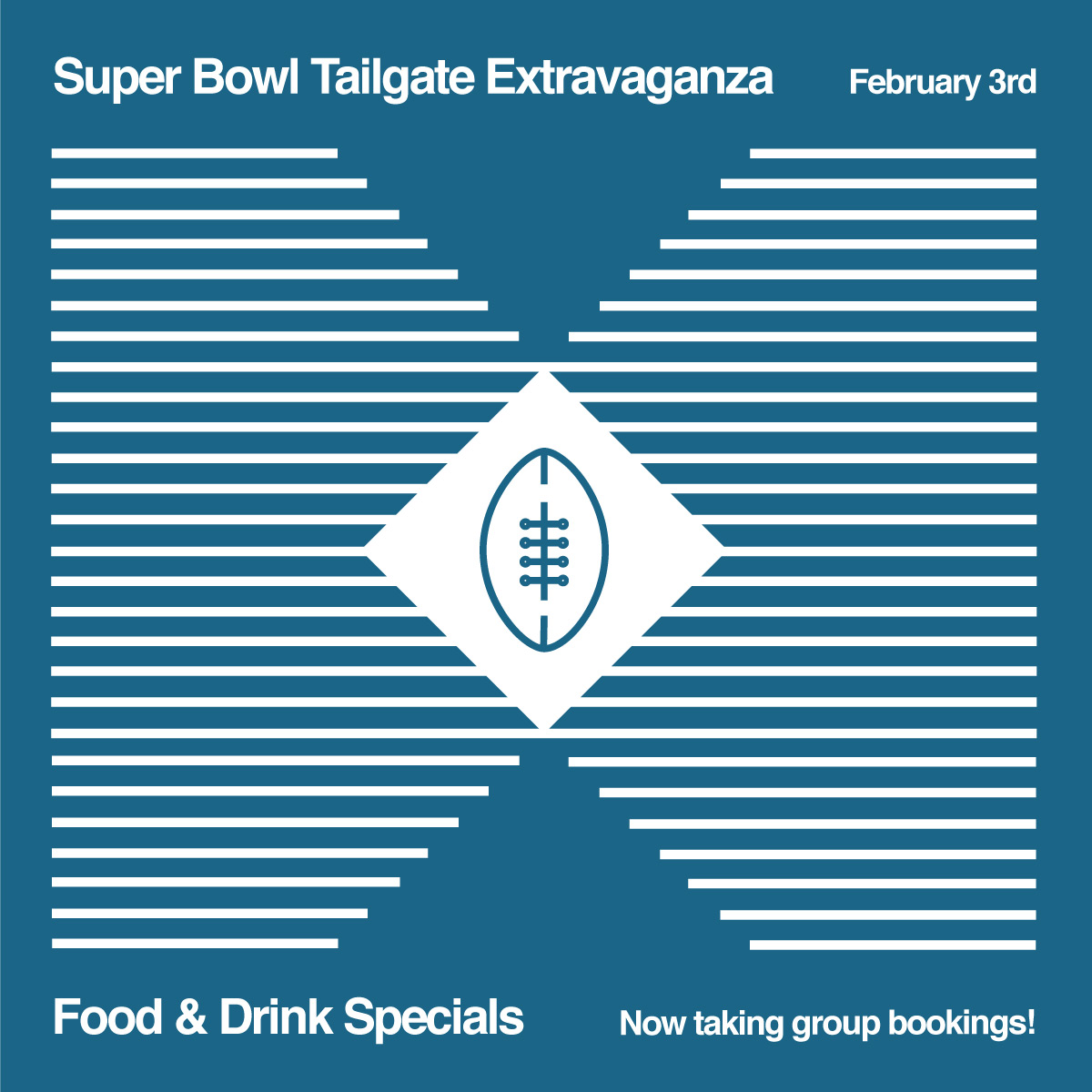 Bells and Whistles Announces Tailgate Extravaganza For Superbowl LIII