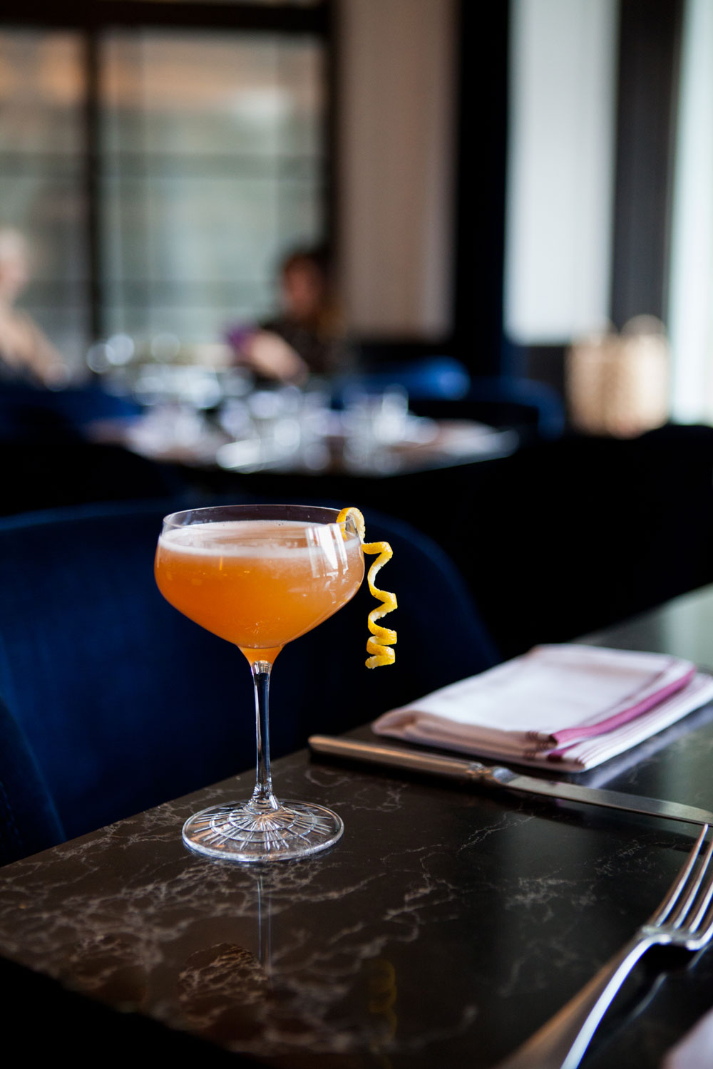 You Need to Try 'The Lumiere' Cocktail at The Vermillion Room