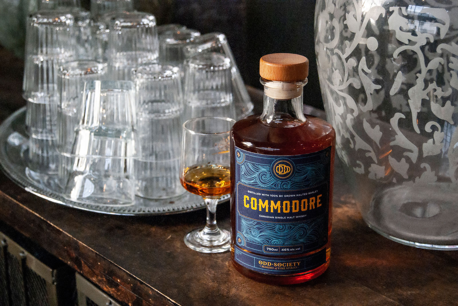 New Batch of Odd Society's Commodore Single Malt Whisky Released in Time for Father's Day