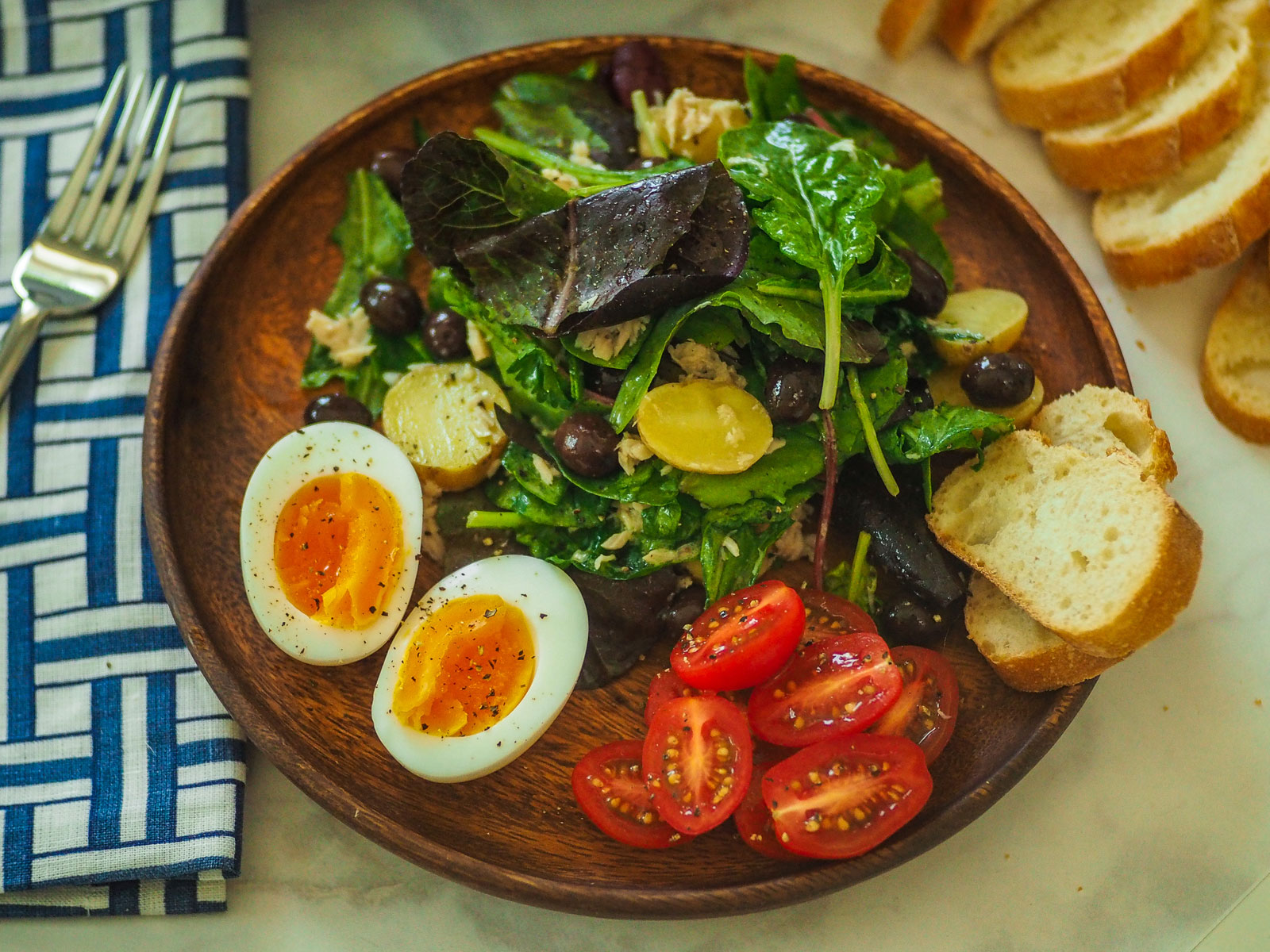 We Tried to Make Les Faux Bourgeois' Delicious Salade Niçoise at Home