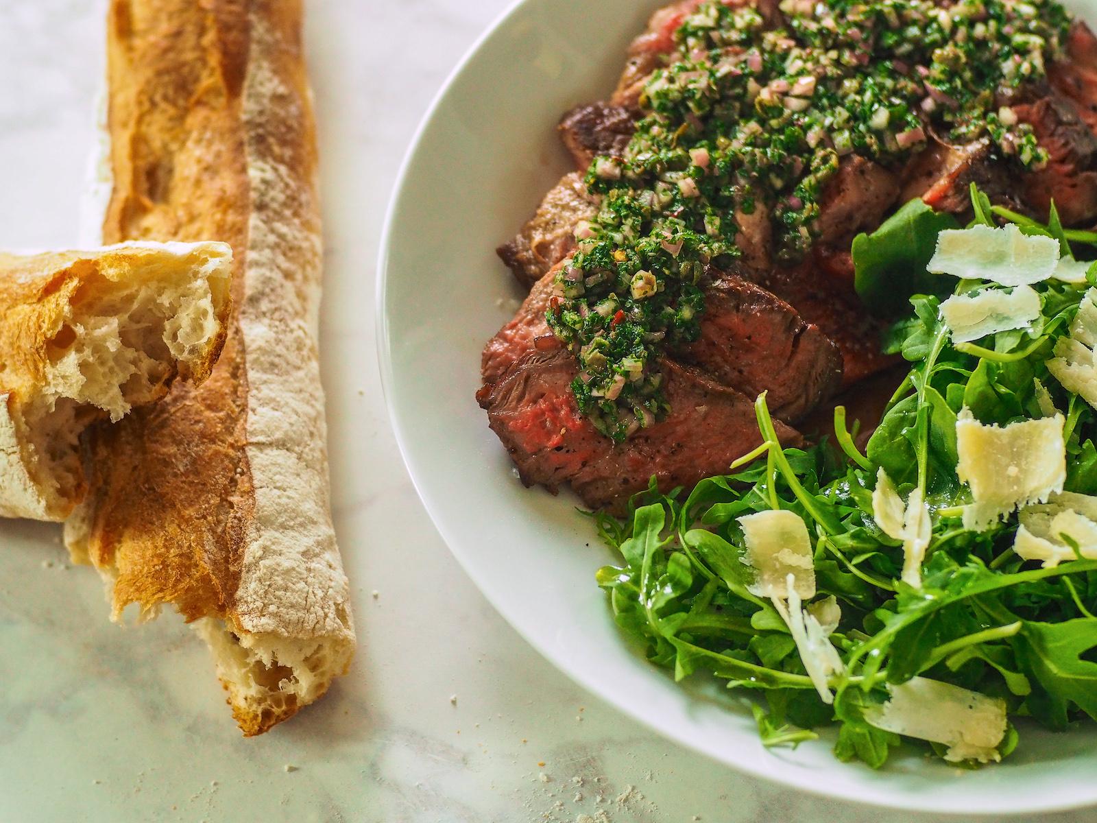 We Tried to Make Tavola's Amazing Rib Steak With Salsa Verde at Home
