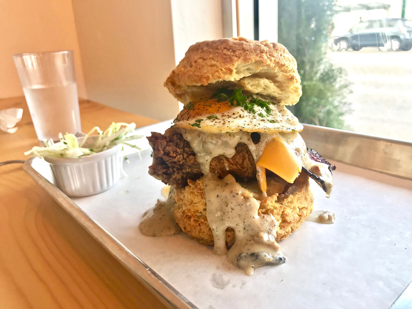 COMFORT FOOD GUIDE // The Best Biscuit Sandwich in Vancouver Is Kind of Absurd